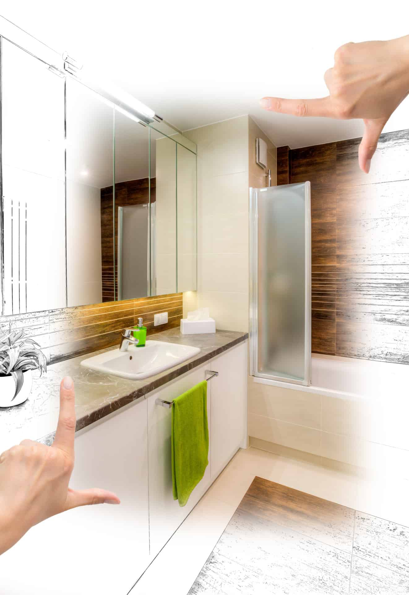 Bathroom Designs Dundee bathroom remodeling east dundee il | schafer brothers remodeling